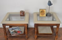 Stylish Side Tables w/chalk paint. $20 EACH. Las Vegas