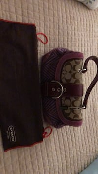 Brown and lavender Coach bag with dust bag. Super cute   Las Vegas, 89101