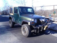 2000 Lifted Jeep Wrangler with Meyer plow ALLSTON