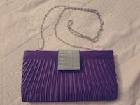 Purple Clutch Purse Fullerton