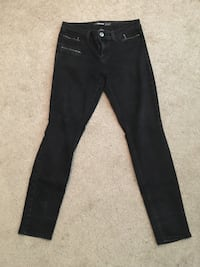 Jordache black high waisted jeans size 6
