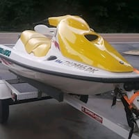 white and yellow personal watercraft Bartlett, 38135