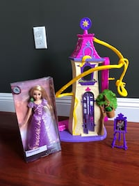 Rapunzel Castle and doll Millbrae, 94030