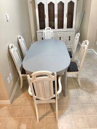 French Provincial Dining Table & 6 Chairs  Edmonton, T5Z 0L7