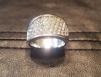White Gold Plated Ring Riverdale