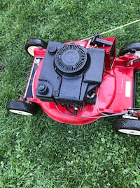 red and black push mower Toronto, M1G 2X6
