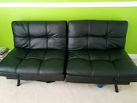 green leather 3-seat sofa Urbana, 21704