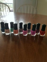 assorted nail polish bottles Calgary, T2X 1Z1