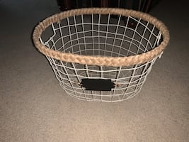Storage basket from winners