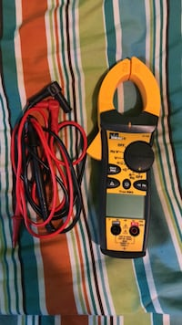 IDEAL 61-744 600 Amp Clamp-Pro Clamp Meter Griffith, 46319