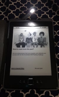Kindle Paperwhite with Leather Case