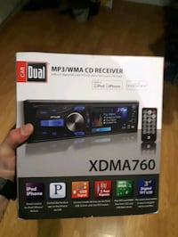 MP3/WMA CD RECEIVER XDMA760 Brampton