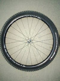 black and gray bicycle wheel 1813 mi