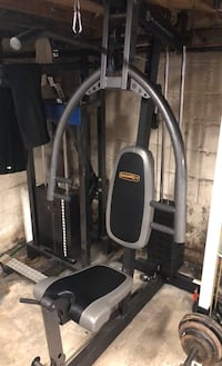 Home gym workout  Platinum Marcy