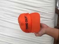 Orange time out fitted cap Honolulu, 96819