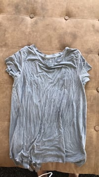 gray v-neck shirt Shediac