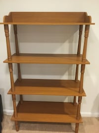 Brown Wood 4-Shelves BookCase Alexandria, 22315