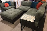 5 pc sectional sofa w/ ottoman Silver Spring, 20904
