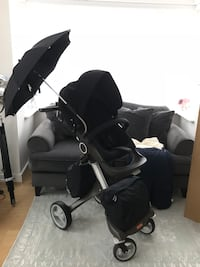 Stokke V4 Stroller with all accessories High Wycombe, HP11 2PG