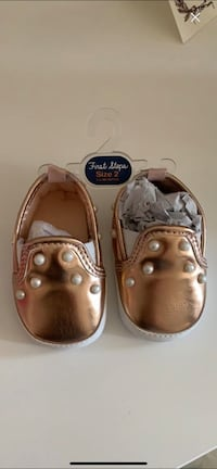Brand new baby girl shoes size 2  Richmond Hill, L4C 0T7