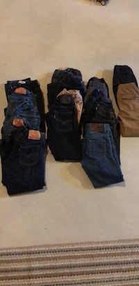 Boys New/gently used Jeans Size 6  $10/pair Winfield, 46307