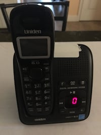 Uniden Dect 6.0 Digital Answering System with power supply. Credit cards are welcome.   West Cocalico, 17517