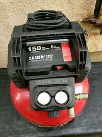 red and black Craftsman air compressor Kearny, 07032
