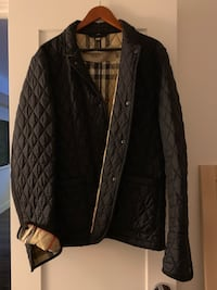 Burberry XL Black Jacket. Rarely warn!  Falls Church, 22041