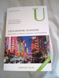 Géographie humaine Limoges, 87000