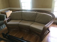 AUTHENTIC WICKER WOOD COUCH Charlotte, 28270