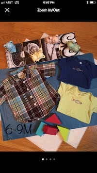 ⭐6-9 MONTH TOPS⭐ Chicopee, 01020