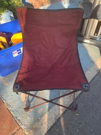red and black camping chair Stockton, 95206