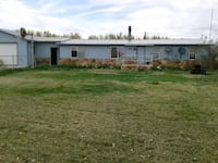 HOUSE For Sale 3BR 1.5BA on 4 irrigated acres Riverton, 82501