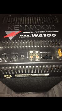 Kenwood KSC-WA100 Sub Woofer/Amp Fort Myers, 33916