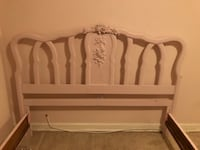 Pink Shabby Chic Bed Frame (full mattress only) San Diego, 92111