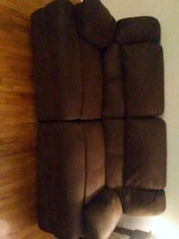 Microfiber full size couch New Haven, 06515