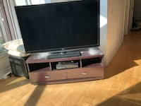 TV stand with drawers - lovely colour wood