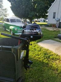 Mercury 2.5 HP four stroke one month old  Sterling, 61081
