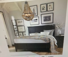 King Bed Frame with Box Spring