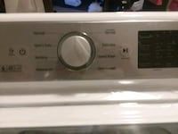white and gray LG smart top-load washing machine Council Bluffs, 51501