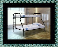 Full twin bunk bed frame Silver Spring