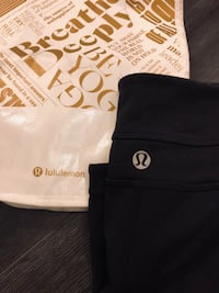 High waisted lululemon pants size 2