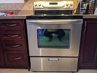 KitchenAid Stainless Steel Electric Range and Convection Oven