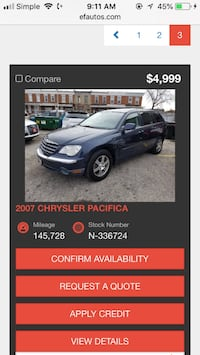 Chrysler - Pacifica - 2007 52 mi