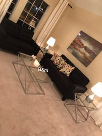 Brand new black sofa and loveseat  Houston, 77064