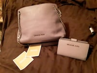 BRAND NEW W/ TAGS- Very Nice Michael Kors Bag W/Matching Wallet Dallas