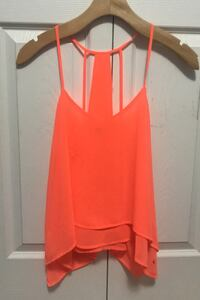 Neon orange strappy top Surrey, V3S 0Z1