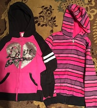 Eleven Girl size 14-16 sweet shirt with hoodie 2$each Norfolk, 23523