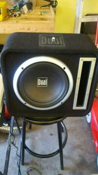 "10"" sub function  and sound really nice  Brampton, L6S 0B1"