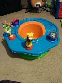 baby's blue and green activity saucer El Paso